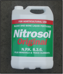 Nitrosol Possibly the best fertiliser on earth ... ORIGINAL