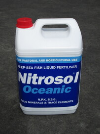 Nitrosol Possibly the best fertiliser on earth ... OCEANIC